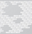 gray brick wall with text places vector image