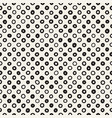 hand drawn black and white ink abstract seamless vector image