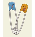 hooks clothes character icon vector image