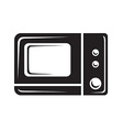 Microwave icon vector image vector image