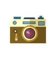 photo camera icon isolated vector image vector image