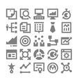 Project Management Icons 4 vector image vector image