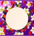 decorative cosmetics beauty store vector image