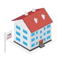 house for rent vector image