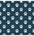 Cat of dog paw pattern vector image vector image