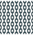 Chain pattern vector image vector image