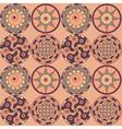 Decorative circles vector image