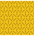 Linear art tools flat yellow seamless pattern vector image vector image