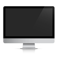 Modern realistic computer monitor vector image vector image