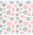 Seamless floral pattern of the colors pink and vector image vector image