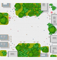top view city background town map vector image vector image