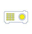 video projector icon vector image vector image