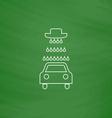 Car wash icons set - computer symbol vector image vector image