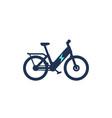 electric bike electro bicycle ebike icon vector image vector image