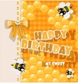 Happy Birthday to my sweet vector image