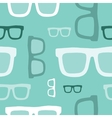 Hipster glasses seamless pattern vector image vector image