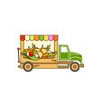 food-truck vector image vector image