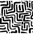 labyrinth geometric seamless pattern vector image vector image