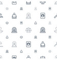 legal icons pattern seamless white background vector image vector image