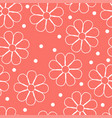 seamless pattern background in trendy color vector image vector image