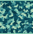 seamless urban camouflage pattern pixel vector image vector image