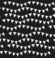 black monochrome seamless patterns geometric vector image