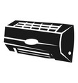 air conditioning inside icon simple style vector image vector image
