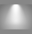 bright projector isolated on transparent vector image