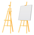 easel board vector image