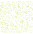 easter egg seamless pattern floral holiday vector image vector image