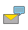 information mail messages vector image vector image