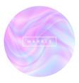 liquid marble vector image vector image