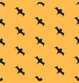 seamless pattern with flying bats vector image vector image