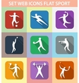 Set of sports games vector image vector image