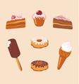 Sweet Set vector image vector image