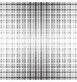Vertical Dots Halftone Pattern vector image