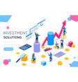 bank development economics strategy commerce vector image vector image