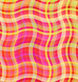 Colorful waves background tablecloth vector image