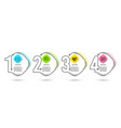 pay world money and line chart icons money vector image vector image