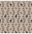 Seamless pattern in vintage style vector image vector image