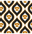 Seamless texture with abstract pattern Tribal vector image vector image
