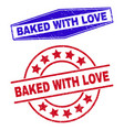 baked with love unclean watermarks in round