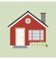 Old House Building vector image
