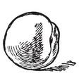 one peach vintage vector image vector image
