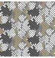 Python snake skin artificial seamless vector image vector image