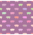 seamless background with domestic animals vector image vector image