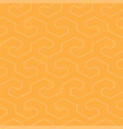seamless geometric pattern - simple vector image vector image