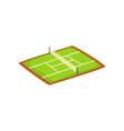 tennis stadium sports ground vector image