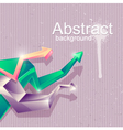 Abstract geometric shapes vector image vector image