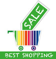 best shopping vector image vector image